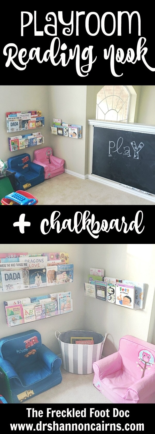 Moving Update + Fun Reading Nook