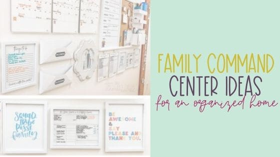 Family Command Center Ideas for the Home