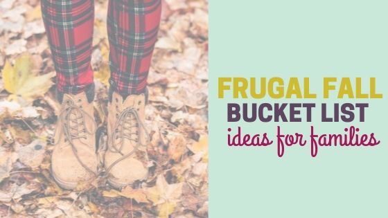 Fall Bucket List Ideas for Families (+ Printable)