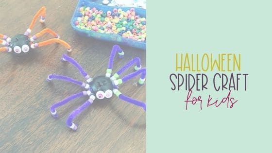Halloween Spider Craft for Kids