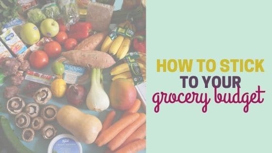 8 Simple Ways to Stick to your Grocery Budget for the Month