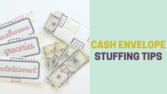 Cash Envelope Stuffing Tips