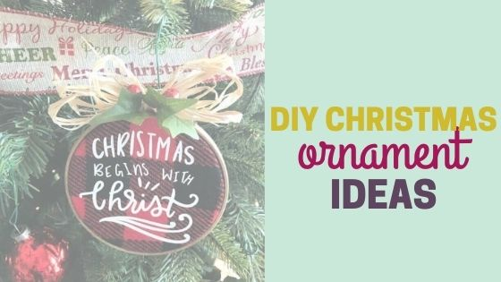 10 Creative DIY Christmas Ornament Ideas