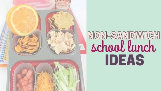 Extremely Easy & Healthy Non-Sandwich School Lunch Ideas for Kids