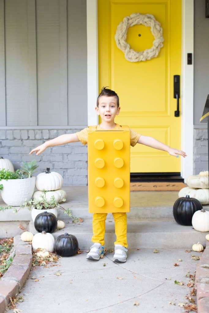 Lego costume for kids